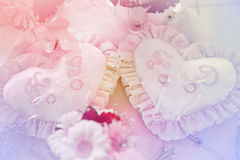 Marriage rings Stock Images