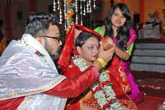 Marriage Rituals Stock Image