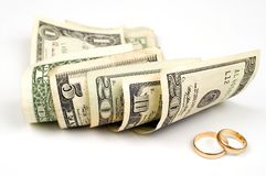 Marriage is success Royalty Free Stock Photography