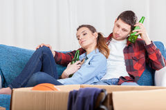 Marriage tired of removal Stock Images
