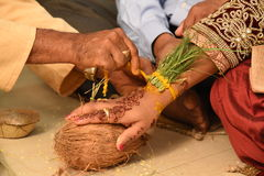 Marriage. Traditional hindu marriage in india royalty free stock images