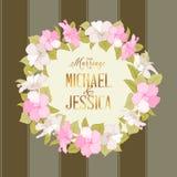 Marriage wreath Stock Image