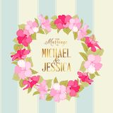 Marriage wreath Royalty Free Stock Images
