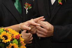 Married Stock Photography