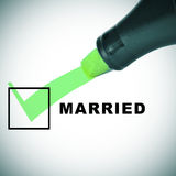Married Royalty Free Stock Photos