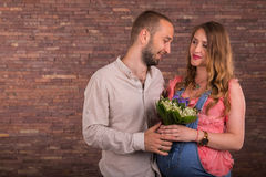 A married couple Royalty Free Stock Image