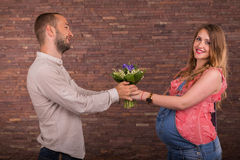 A married couple Stock Images