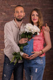A married couple Royalty Free Stock Photos