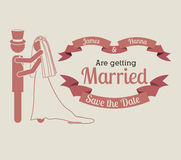 Married design Stock Photo