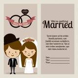 Married design Stock Photos