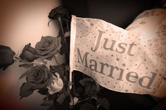 Married flag Stock Images