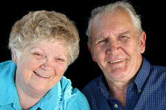 Married Senior Couple. Smiling married senior couple enjoying life Stock Photography