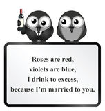 Married to you Poem Stock Images