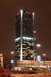 Marriot hotel i Warsaw Stock Image