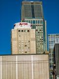 Marriot-Hotel im Stadtzentrum gelegenes Montreal Lizenzfreie Stockbilder