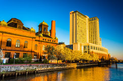 The Marriot Waterfront Hotel and Public Works Museum in Harbor E Stock Image