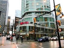 Marriott śródmieście, Vancouver, BC obraz royalty free