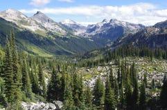 Marriott Basin. Popular hiking destination north of Whistler, Canada royalty free stock photo