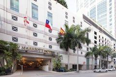 Marriott Hotel Brickell Royalty Free Stock Photography