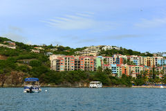 Marriott Hotel at Charlotte Amalie, US Virgin Islands Stock Photos
