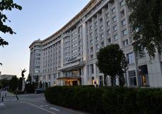 Marriott hotell Royaltyfria Foton