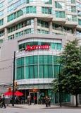 Marriott, West-Hasting St. Vancouver, BC Lizenzfreie Stockbilder