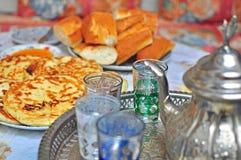Marrocan breakfast Royalty Free Stock Photos
