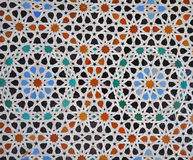 Marrocan tiles Royalty Free Stock Image