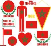 marrocos Foto de Stock Royalty Free