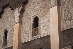 Marrocos C4marraquexe Ali Ben Youssef Medersa Islamic fotos de stock