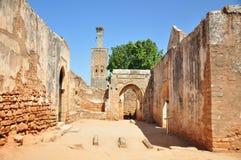 Marrocos, Chellah (Sela) Imagem de Stock