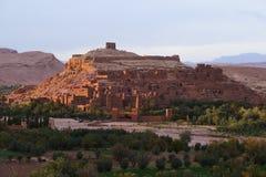 marrocos Haddou de Kasbah AIT ben Imagem de Stock Royalty Free
