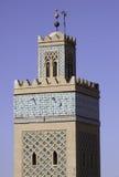 Marrocos Marrakesch Kontrollturm Stockbild