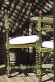 Marrocos riad chair Royalty Free Stock Photos