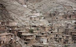 Marrocos - vila no deserto Fotografia de Stock