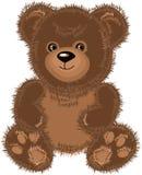 Marrom do urso da peluche. Imagens de Stock
