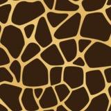 Fundo manchado girafa Fotografia de Stock