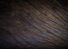 Marrom escuro da textura de madeira velha Foto de Stock Royalty Free