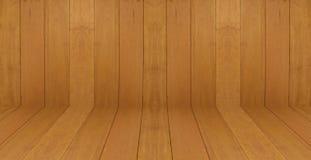 Marrom escuro de madeira do projeto do assoalho de madeira da parede da textura do vintage do papel de parede do fundo da sala Imagem de Stock Royalty Free