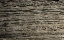 Marrom escuro do fundo de madeira velho da textura Imagens de Stock Royalty Free