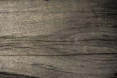 Marrom escuro do fundo de madeira velho da textura Fotografia de Stock