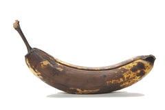 Marrom velho sobre bananas amadurecidas imagem de stock royalty free