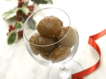 Marron glacé Royalty Free Stock Images