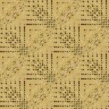 Marrone beige complesso senza cuciture regolare del modello di zigzag diagonalmente Fotografia Stock Libera da Diritti
