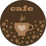 Marrone del fondo del caffè Immagine Stock