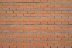 Marrone del mattone della parete strutturato Fotografia Stock Libera da Diritti
