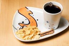 Marrone dolce di festa dell'alimento caldo dello zenzero del caffè Fotografie Stock