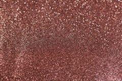 Marrone marrone rossiccio del fondo con le scintille Fotografia Stock