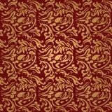 Marrone rossiccio floreale Fotografie Stock