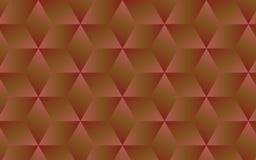 marrone scuro 3D e fondo geometrico astratto rosa per le vostre idee creative di progettazione Immagini Stock Libere da Diritti